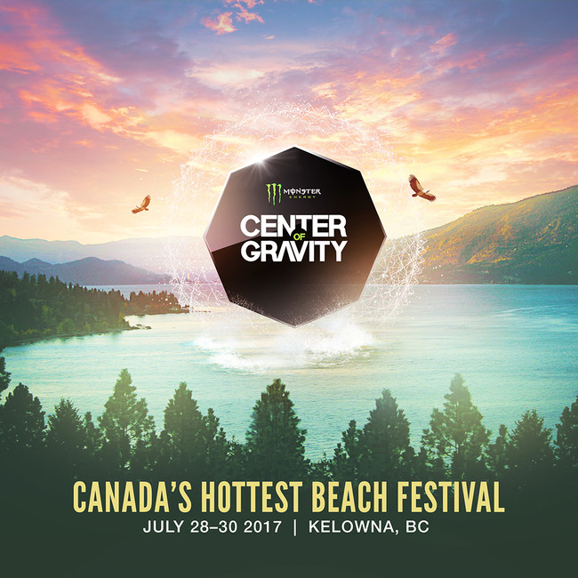 CENTER OF GRAVITY TICKET GIVEAWAY