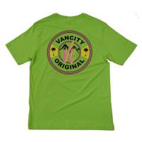 VC Beach Tee - Lime Green