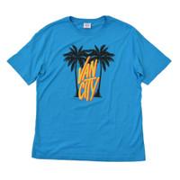 Palm City Tee - Pacific Blue