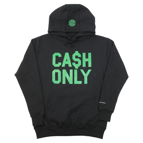 CA$H ONLY Hoodie - Black