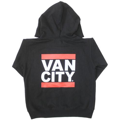 Vancity® Toddler Zip Up Hoodie - Black