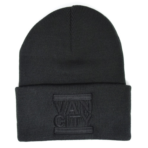 Monochrome Neutrale Beanie - Black