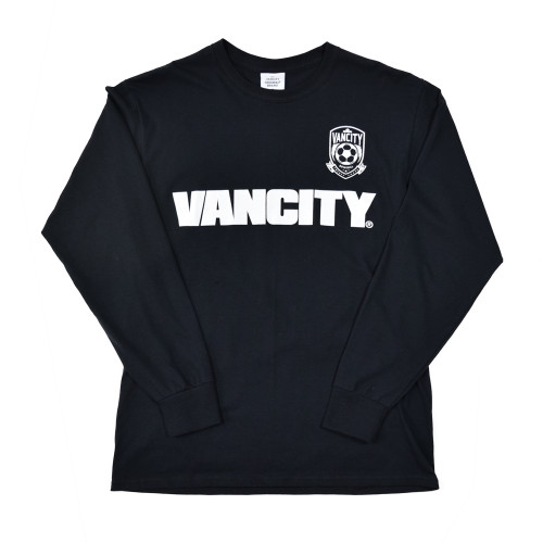 20th Anniversary Crest Long Sleeve Tee - Black