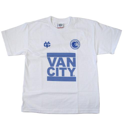Vancity® Beach Soccer Blast Tee - White