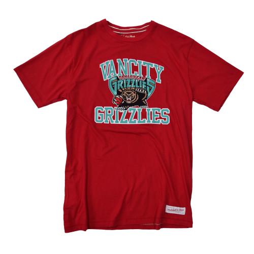 Vancity® Grizzlies Collegiate Tee - Red