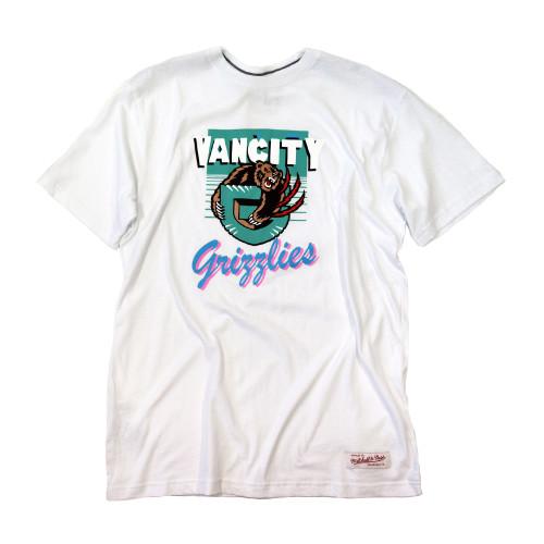 Vancity® Grizzlies Vintage Tee - White