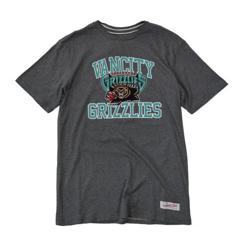 Vancity® Grizzlies Collegiate Tee - Athletic Grey