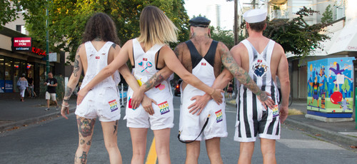 Vancity® Pride One Of Kind Overalls By Ciji Greene
