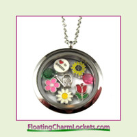 FCL Designs Love To Garden Theme Locket