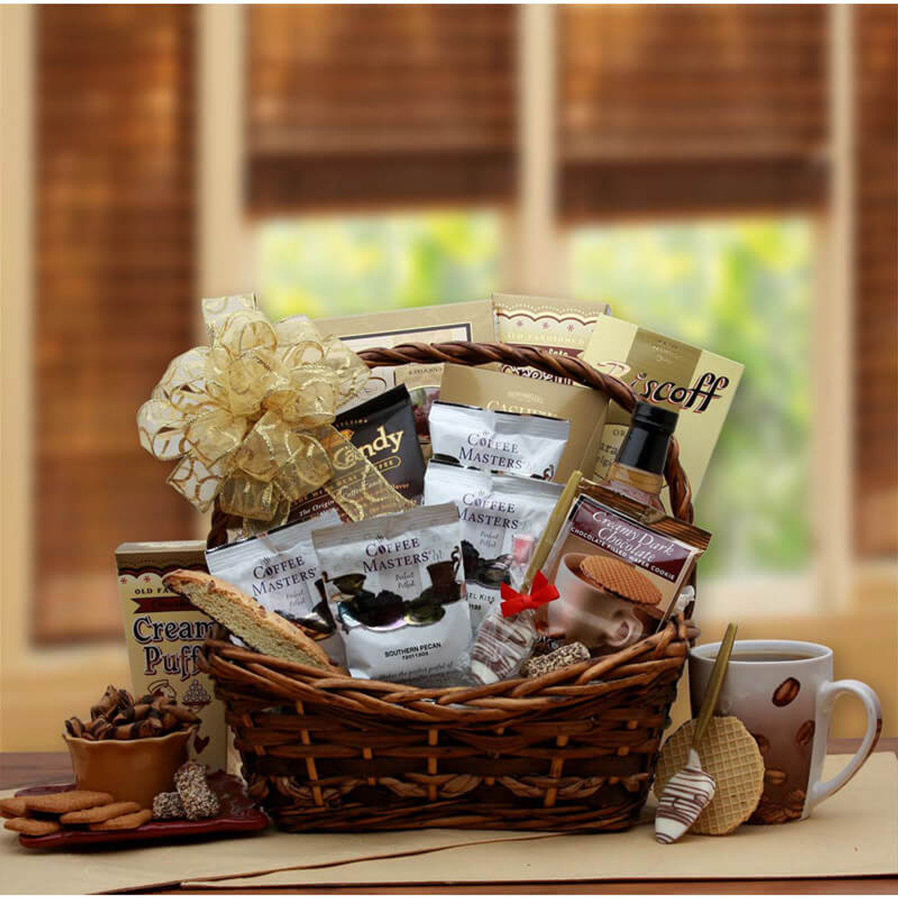 Coffee Time Gift Basket by canterberrygifts.com