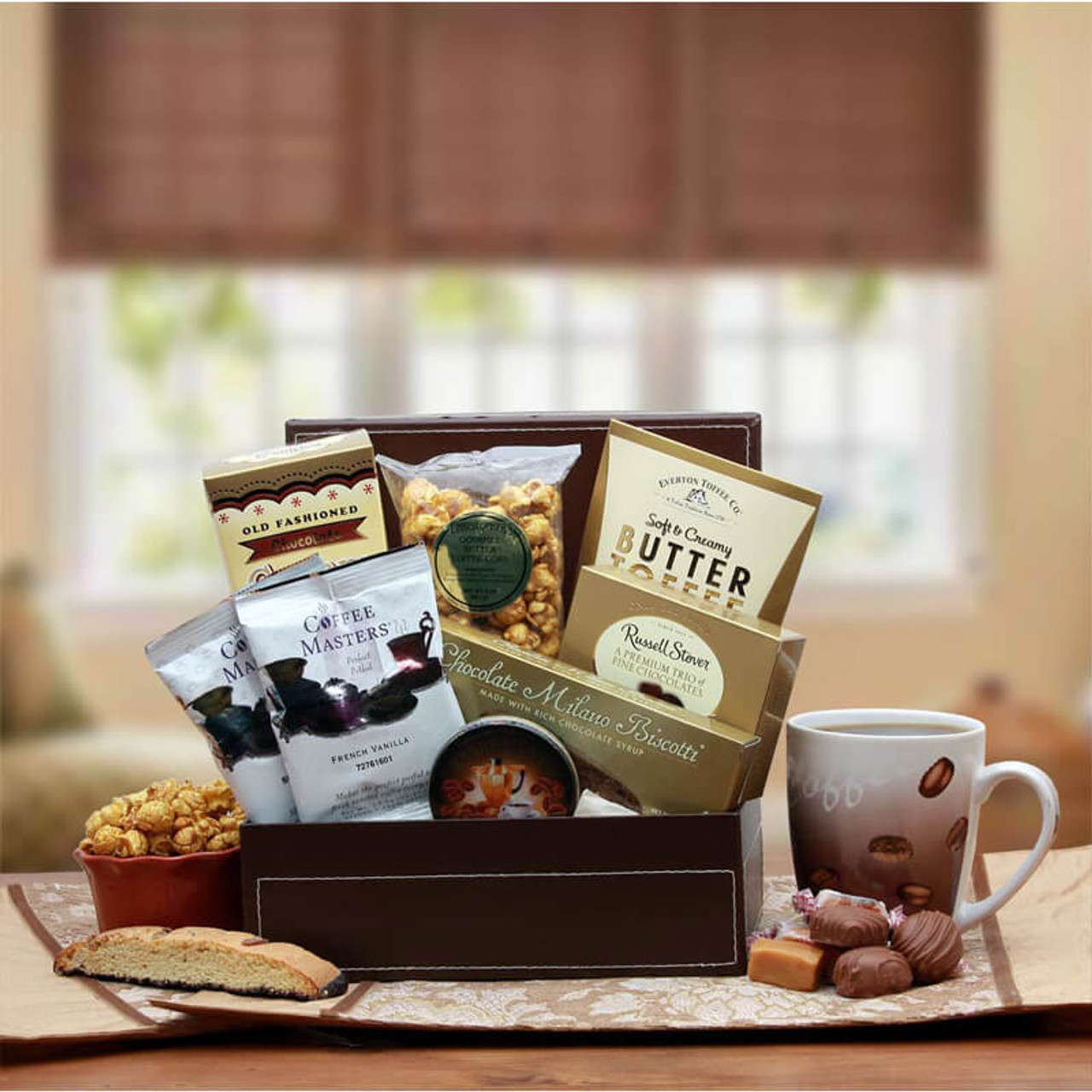 Coffee Break Gift Box by canterberrygifts.com