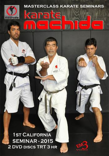 MACHIDA Karate Family Seminar 2015 2 dvd set