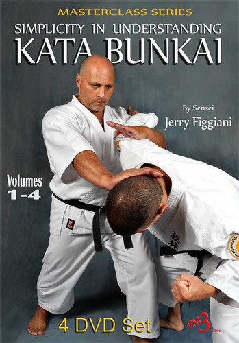 MASTERCLASS KATA SERIES SIMPLICITY IN UNDERSTANDING KATA BUNKAI Vol 1-4 set