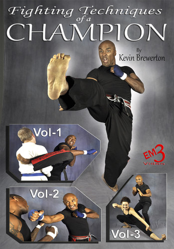 MASTERCLASS SERIES FIGHTING TECHNIQUES of a CHAMPION  Vol 1-3