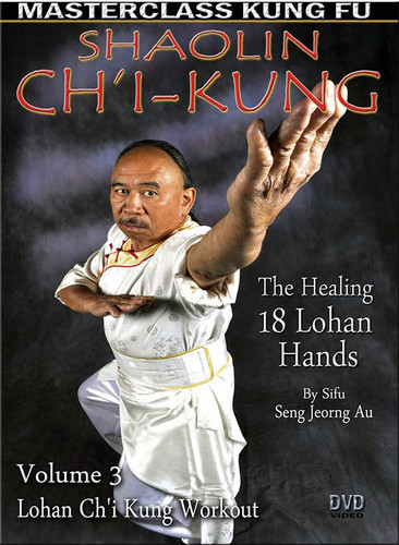 Ch'i Kung (The Healing 18 Lohan Hands) By Sifu Seng Jeorng Au Volume 3 is a workout session