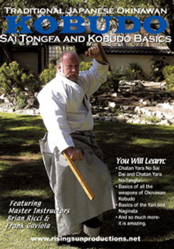Traditional Japanese Okinawan Kobudo Sai-TONGFA AND KOBUDO BASIC
