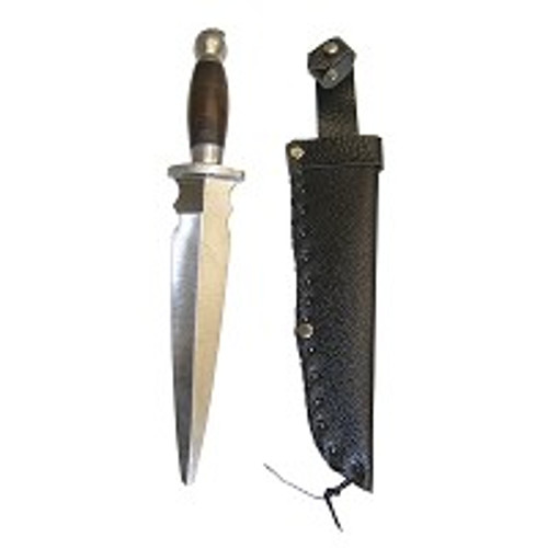 13in Metal Practice Dull Straight Dagger 8in Blade