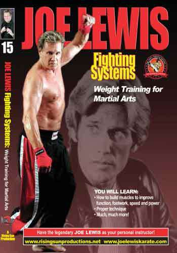 Joe Lewis - Weight Training for Martial Arts(video download)