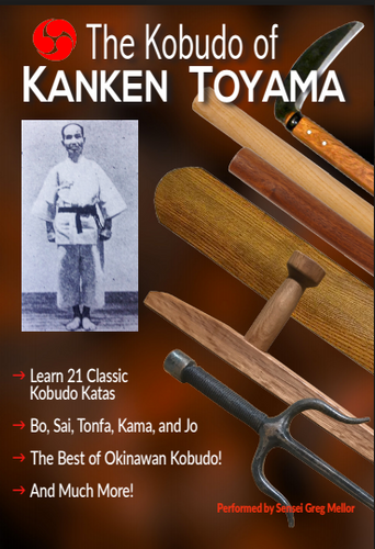 Kanken Toyama Original Okinawan Kobudo Kata