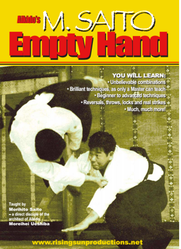Aikido's M.Saito Empty Hand (Video Download)