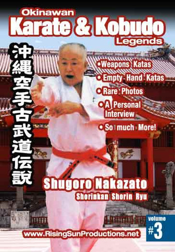 #3 Shuguro Nakazato Shorin Kan Shorin Ryu (Download)