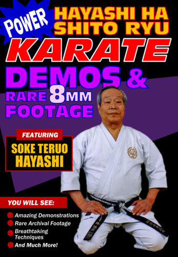 Power Karate Hayashi Ha Shito Ryu 8mm Film Footage and Demos