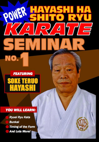 Power Karate Hayashi Ha Shito Ryu Seminar #1 (Download)