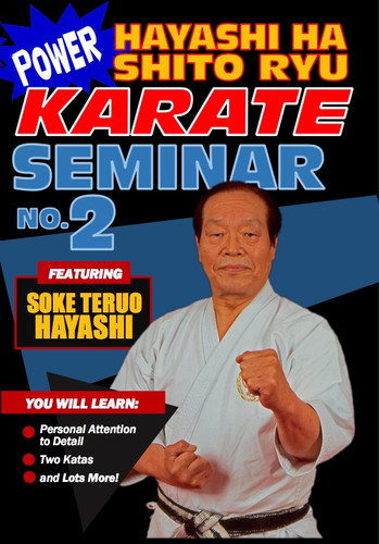 Power Karate Hayashi Ha Shito Ryu Seminar #2 (Download)