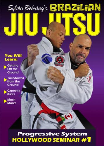 Sylvio Behring Brazilian Jiu Jitsu Progressive System Hollywood Seminar #1 (Download)