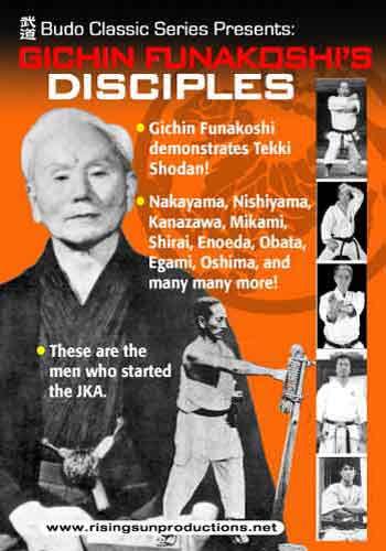 Gichin Funakoshi Disciples