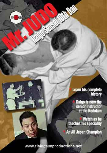 "Diago Sensei ""Mr. Judo"" Kodokan 10th Dan"