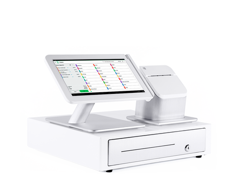 Clover Point-of-Sale (POS) System Station With Printer and Cash Drawer