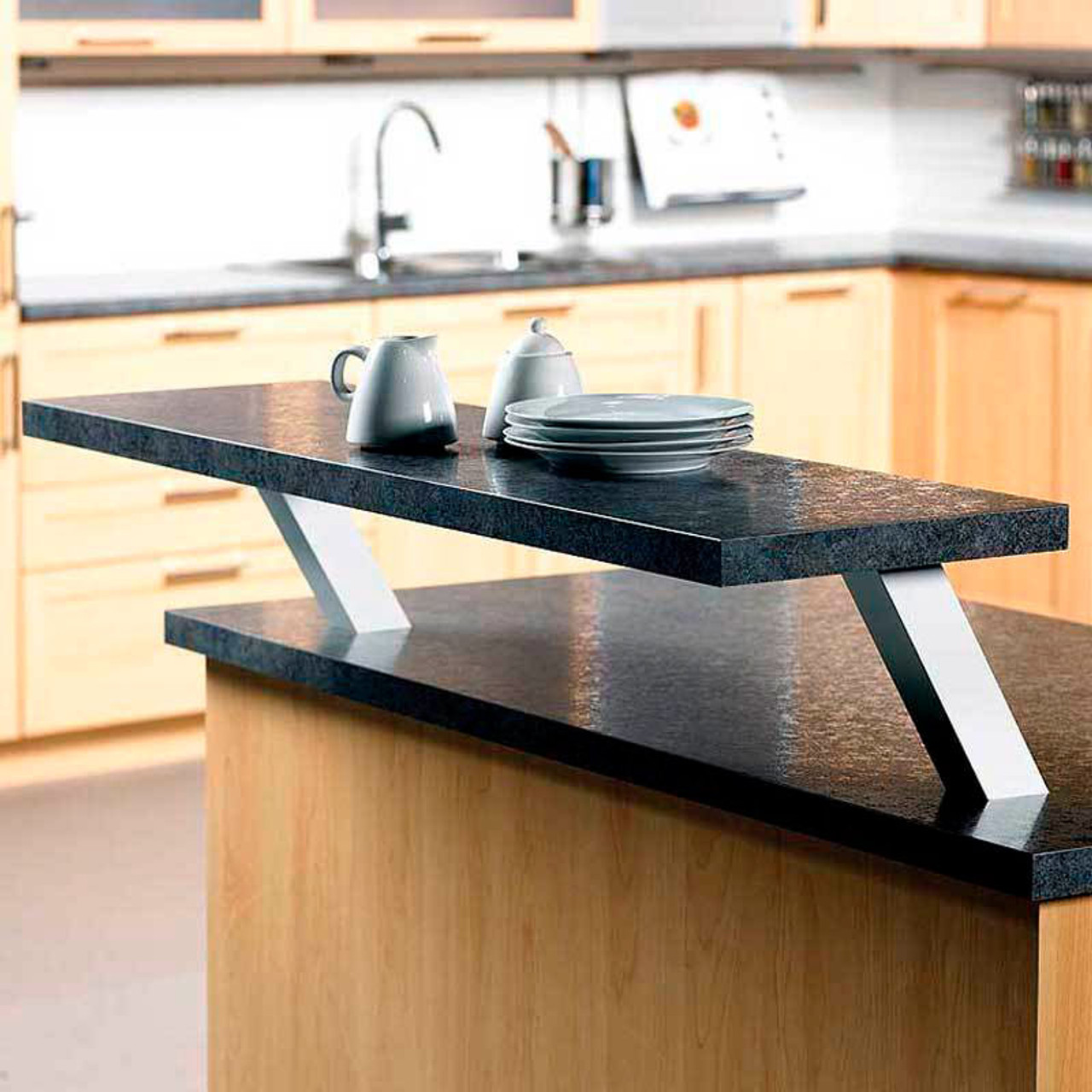 Hafele Square Angled Countertop Support 505.23.021 - Harbor City Supply