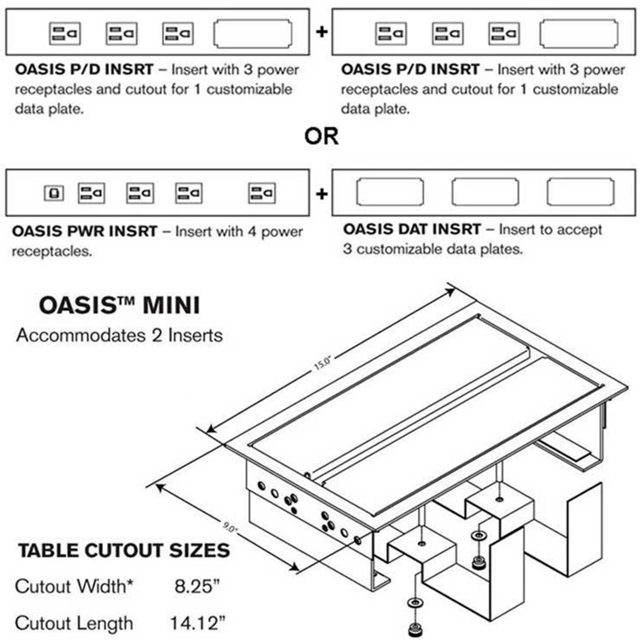 Oasis Mini (4 or 6 Power plus Data Options) - Harbor City Supply