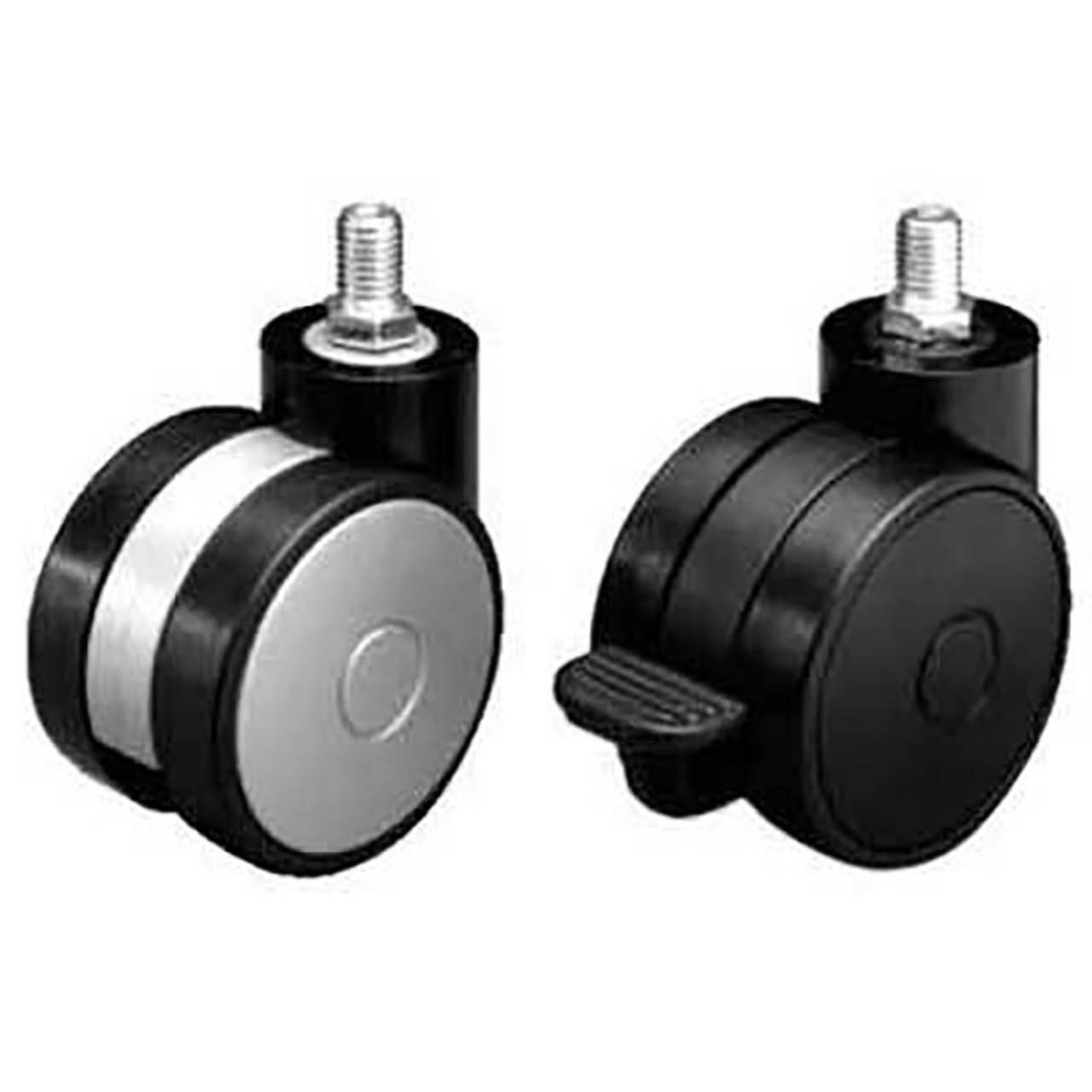 Swiveling Casters Thread Stem Mount M10 Each Harbor