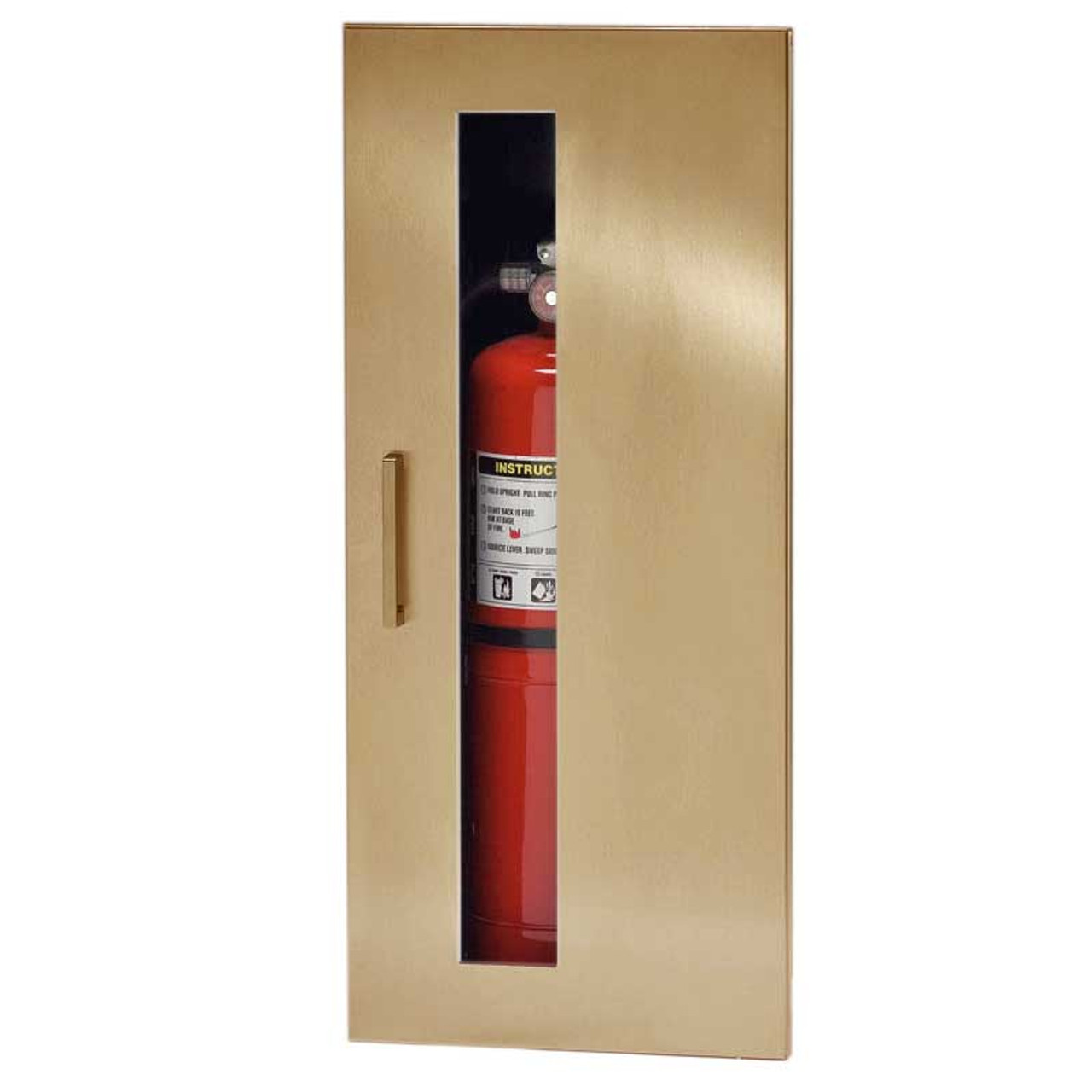 Exceptionnel Recessed Fire Extinguisher Cabinet   JL Industries Embassy ...