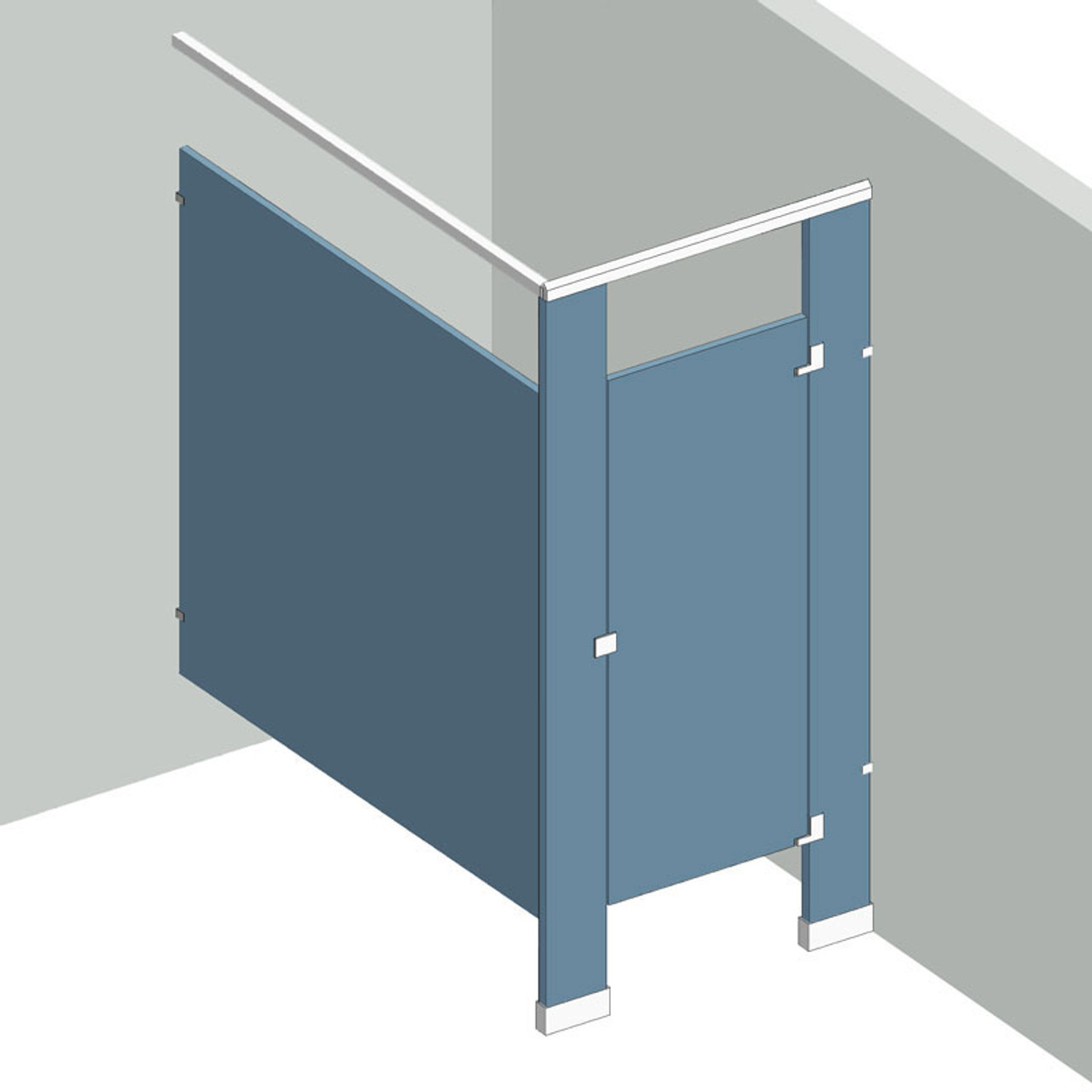 Bathroom Partitions 1 Stall In Corner Right Hand Shop Now