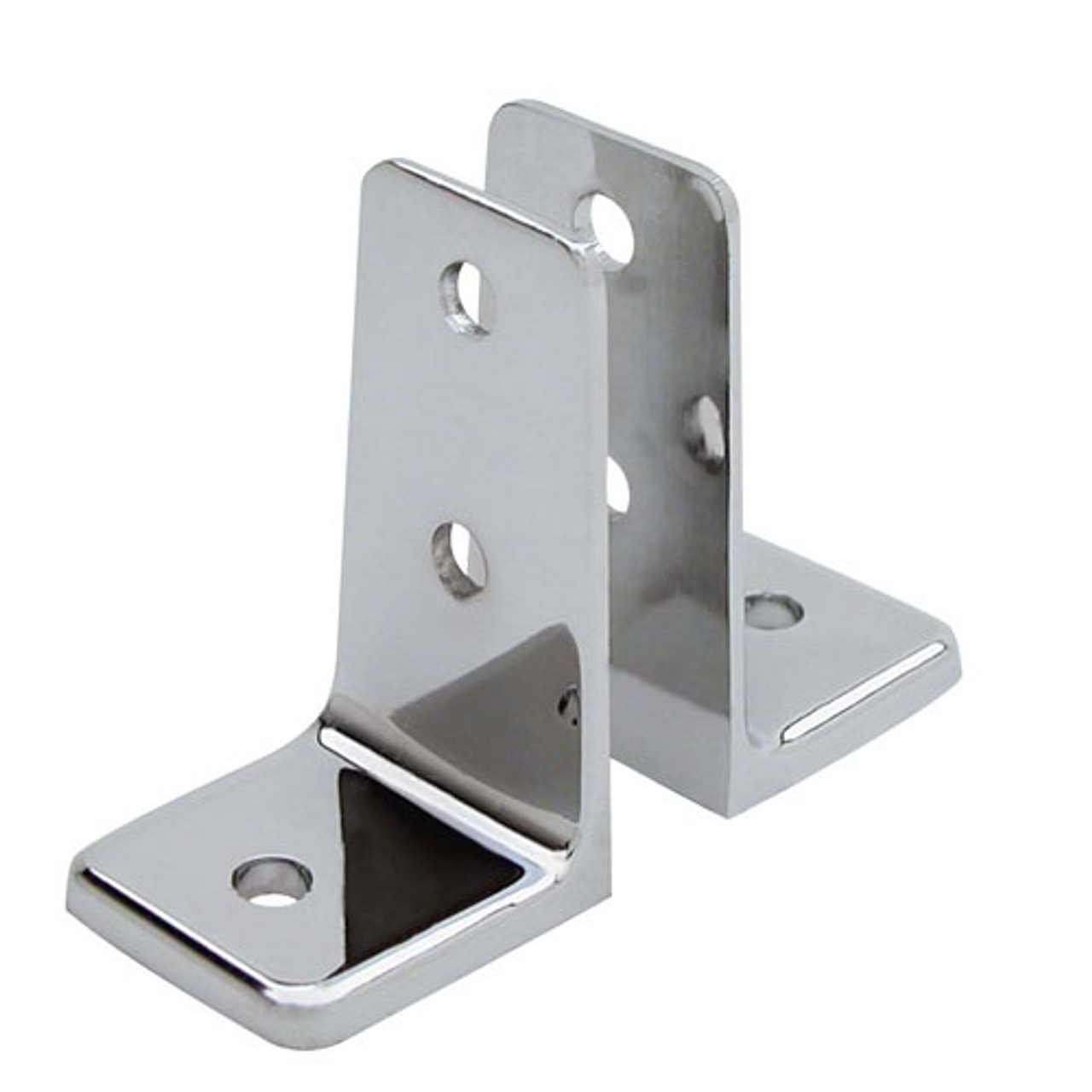 Global Partitions Stainless Steel Urinal Screen Bracket Set Harbor