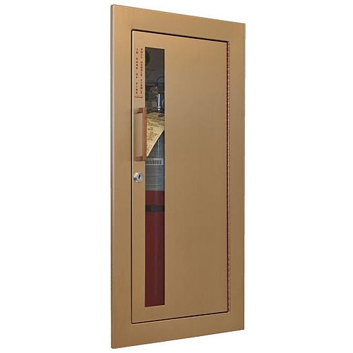 Recessed Fire Extinguisher Cabinet   JL Industries Cavalier