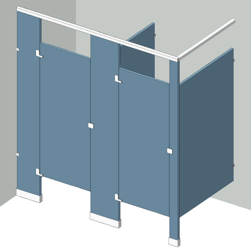 Dressing Compartment 2 Stall In Corner Left Hand Fast