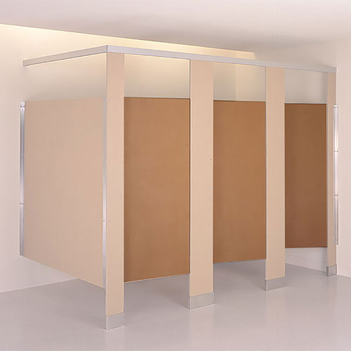 Baked Enamel/Powder Coated Steel Toilet Compartment Door & Divider Doors Pilasters and Panels | Quick Shipping