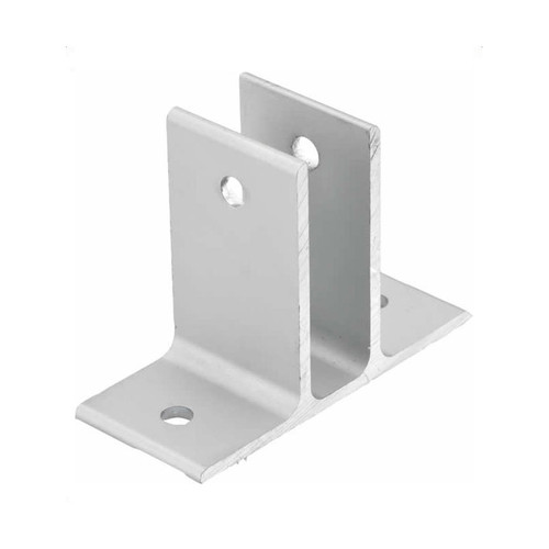 Global Partitions Aluminum Double Ear Bracket Set Harbor City Supply