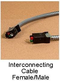 Female/Male Interconnection Cable