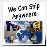 We can ship anywhere in the world