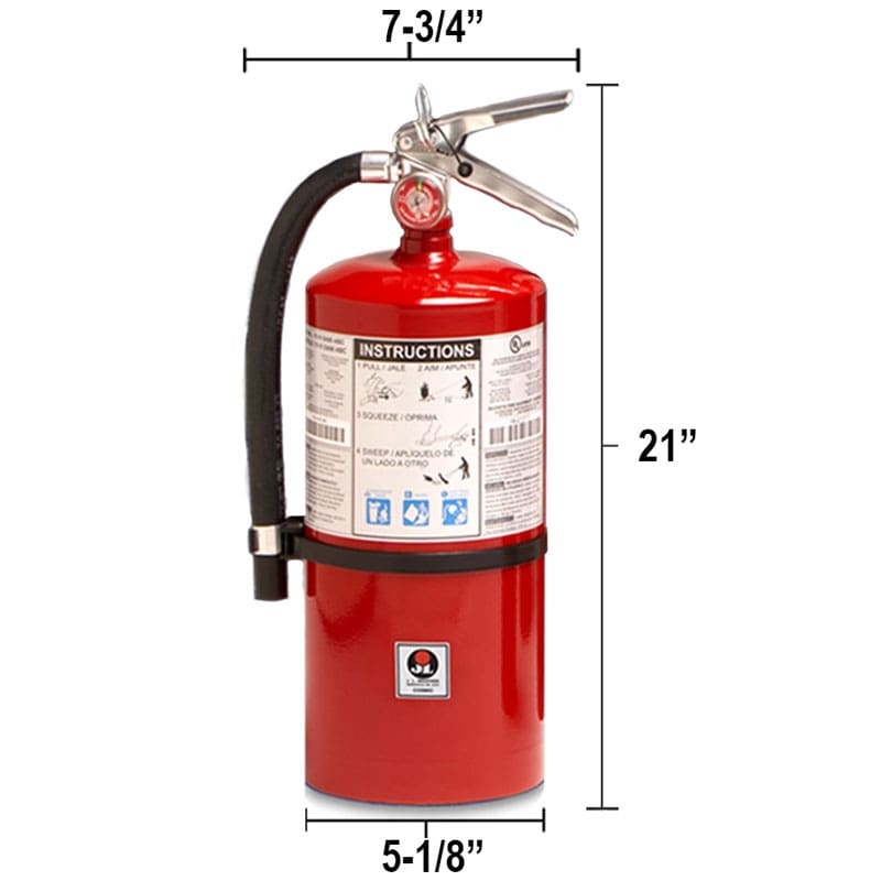 Dry Chemical 10 lb Fire Extinguisher - Multi Purpose Cosmic Dimensions