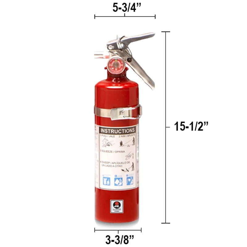 Dry Chemical 2.5lb Fire Extinguisher - Multi Purpose Cosmic Dimensions