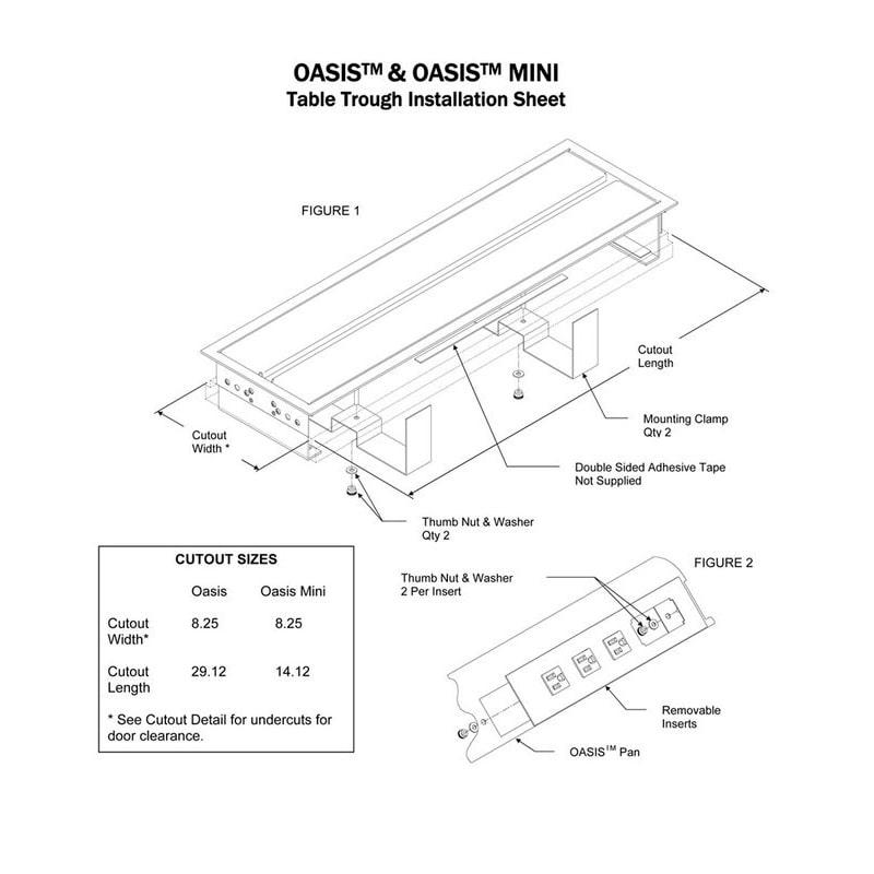 Cove TR DaisyLink - Oasis DaisyLink - 8 or 12 Power plus Data Options Install Sheet 2