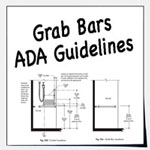 ADA Grab Bars For Showers and Bathtubs<