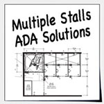 ADA Design Solutions For Multiple Stalls