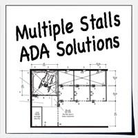 ADA Design Solutions For Multiple Stalls